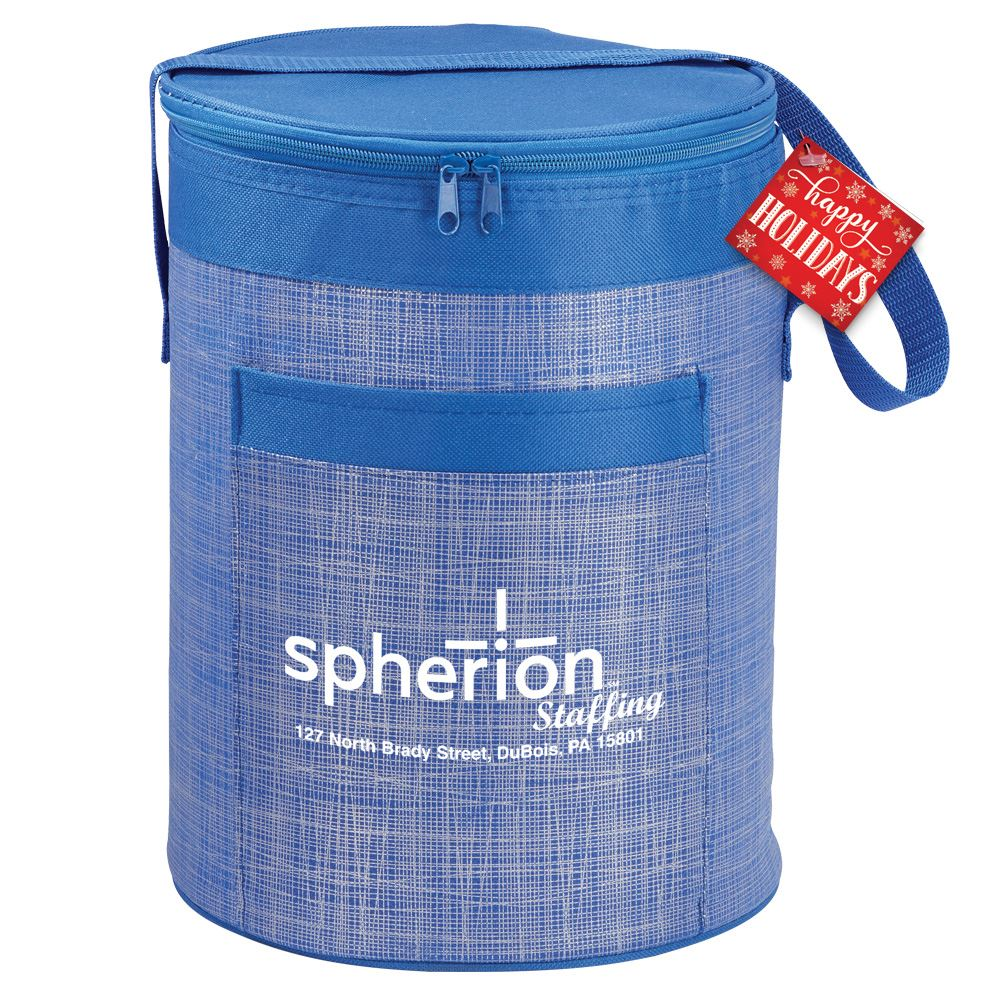 Blue Barrel Cooler Bag - Personalization Available