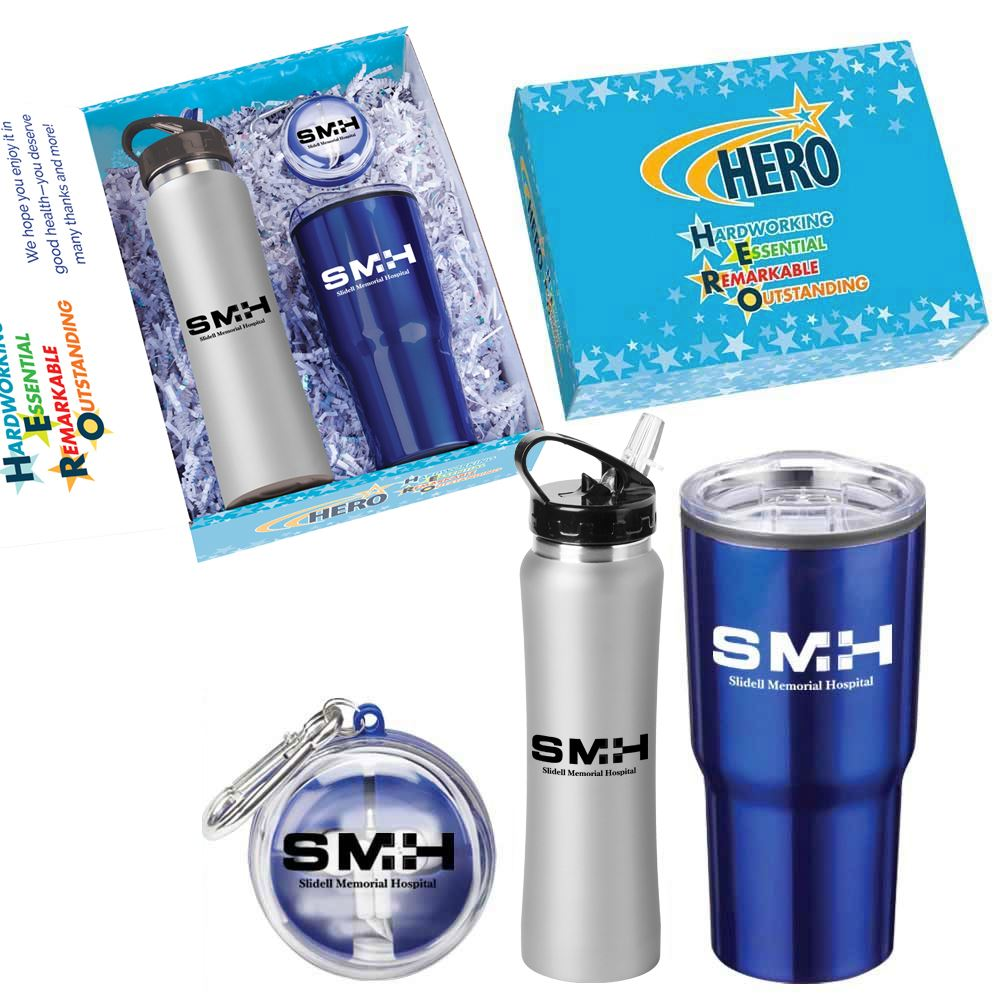 HERO 3-Piece Employee Care Kit - Personalization Available
