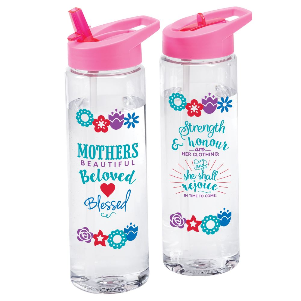 Mothers: Beautiful, Beloved, Blessed Solara Water Bottle 24-Oz.