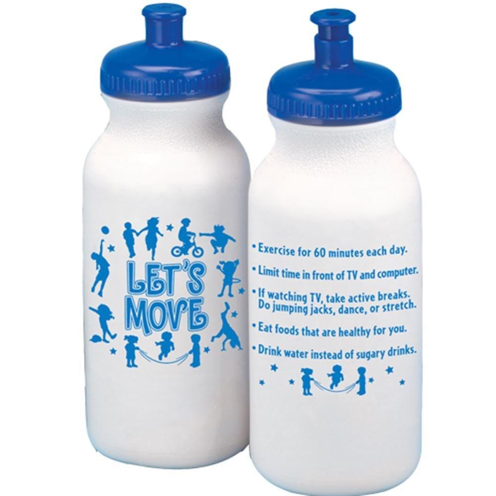 Let's Move! Water Bottle 20-Oz.