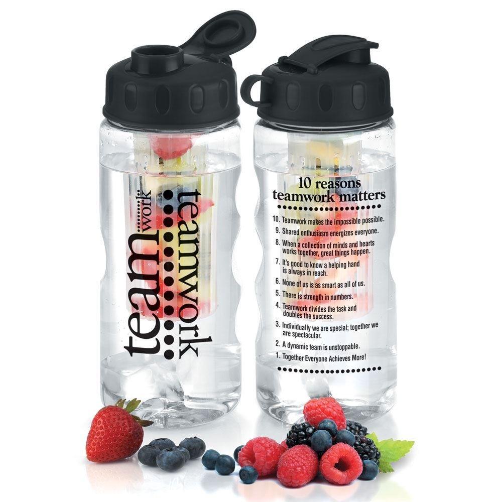 Water Bottle You Put Fruit In: Teamwork Fruit Infuser Water Bottle