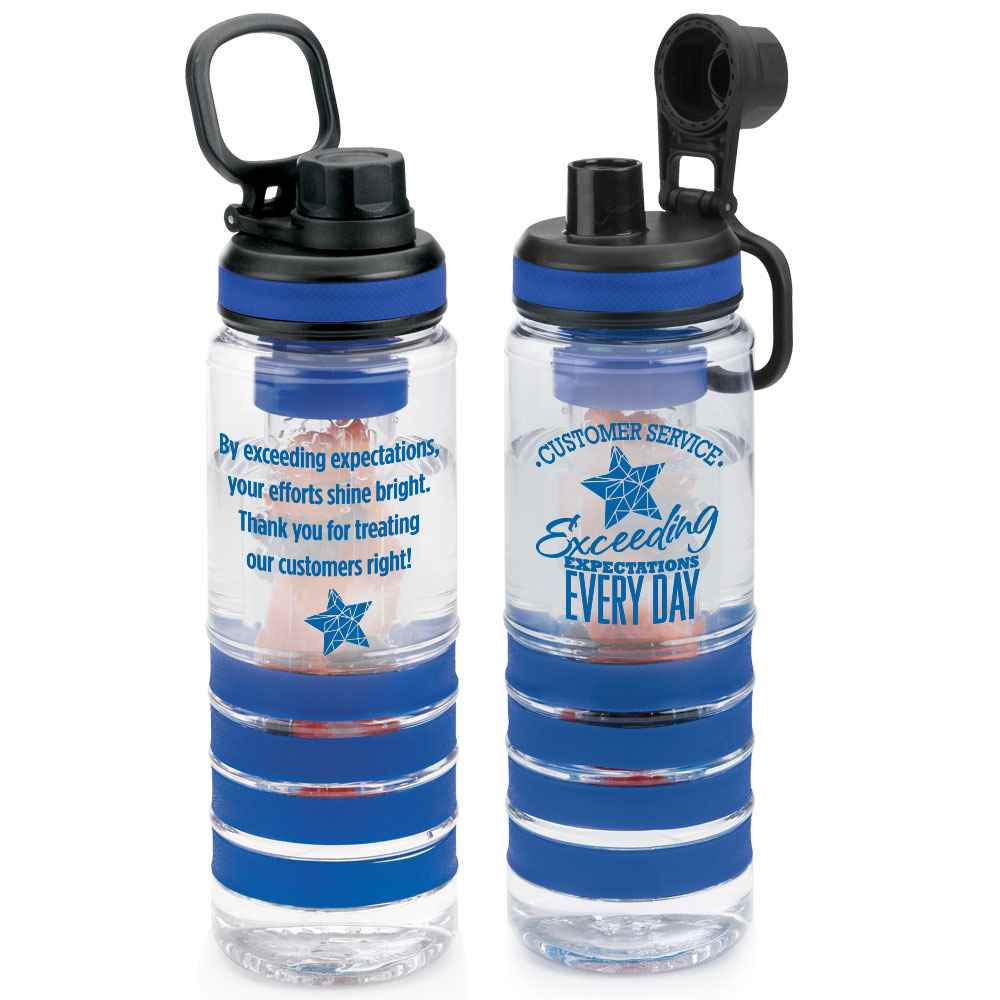 Customer Service: Exceeding Expectations Every Day Fresno Fruit Infuser Water Bottle 24-Oz.