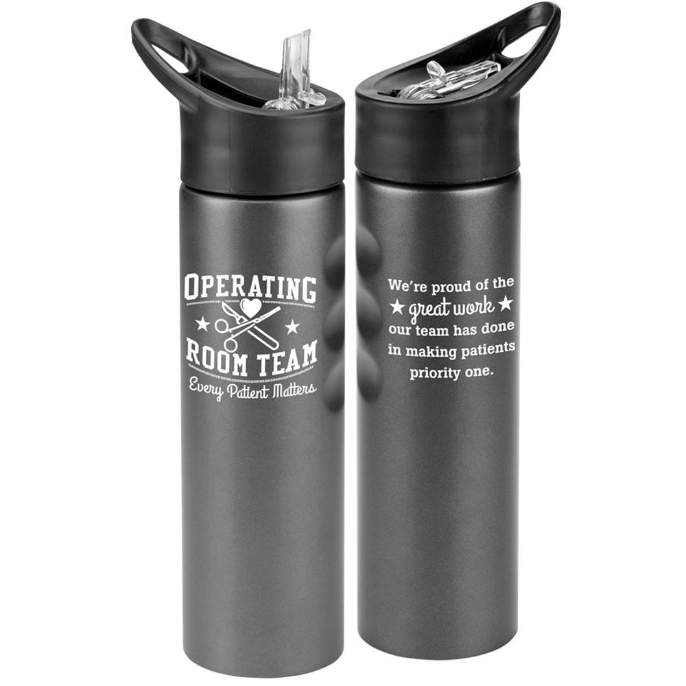 Operating Room Team: Every Patient Matters Essex Stainless Steel Water Bottle 25-Oz.