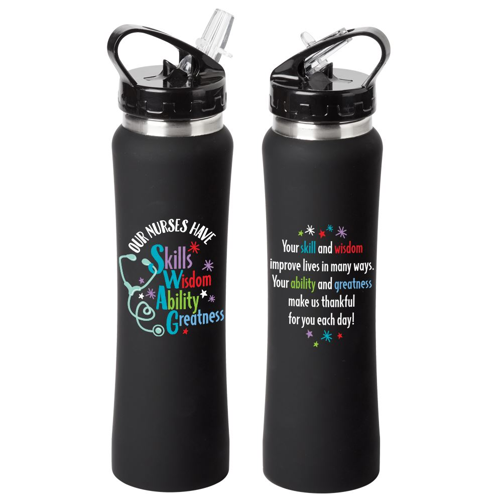 Our Nurses Have SWAG Lakewood Stainless Steel Water Bottle 25-Oz.