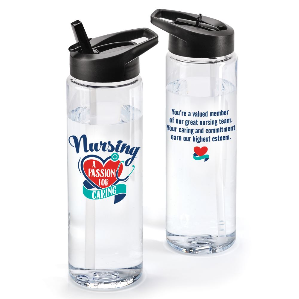 Nursing A Passion For Caring Solara Water Bottle 24-Oz.