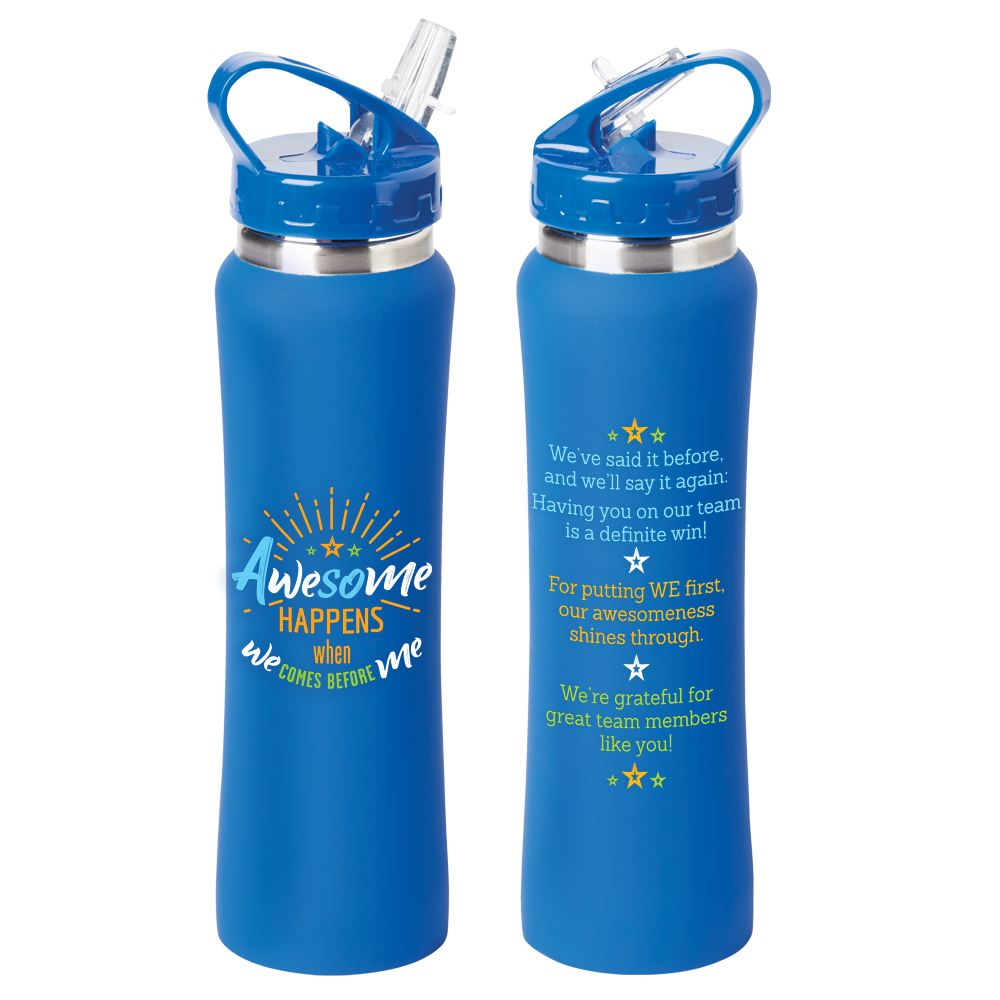 Awesome Happens When We Comes Before Me Lakewood Stainless Steel Water Bottle 25-Oz.