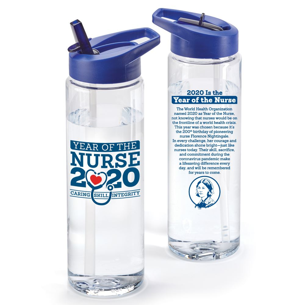 Year Of The Nurse 2020 24-oz. Solara Water Bottle (SPECIAL EDITION)