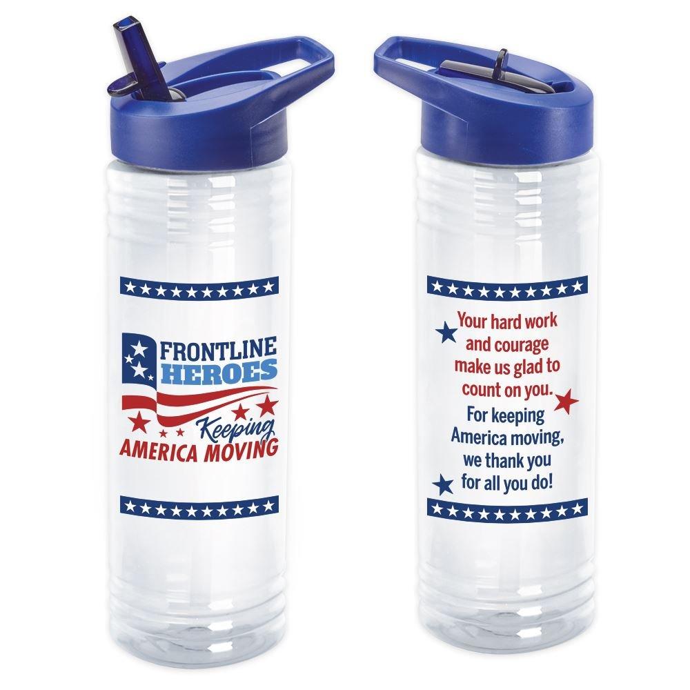 Frontline Heroes Keeping America Moving Solara Water Bottle 24-Oz.