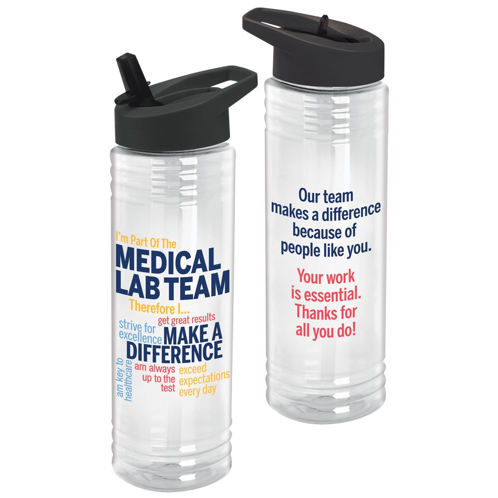 I'm Part of the Medical Lab Team...24-oz. Solara Water Bottle