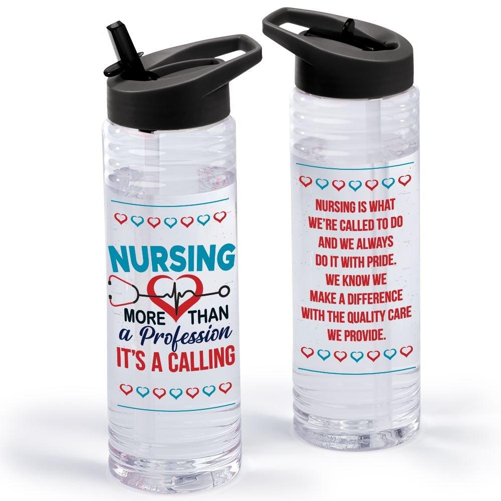 Nursing: More Than A Profession, It's A Calling Solara Water Bottle 24-Oz.