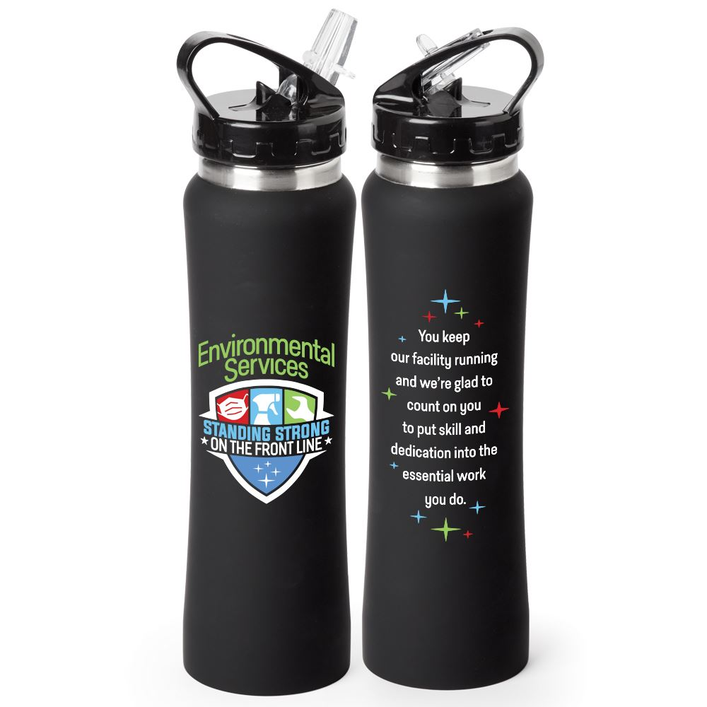 Environmental Services: Standing Strong On The Front Line Lakewood Stainless Steel Water Bottle 25-Oz.