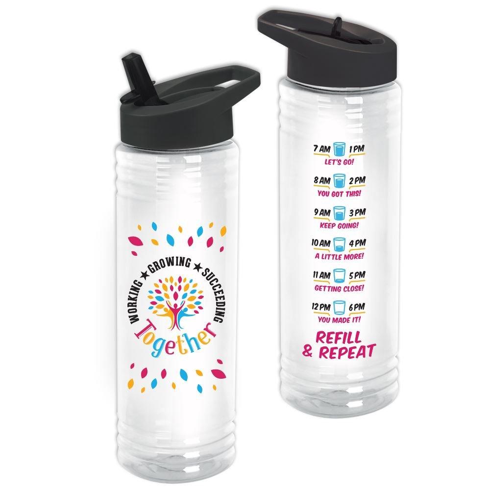 Working, Growing, Succeeding Together Solara Water Bottle 24-Oz.