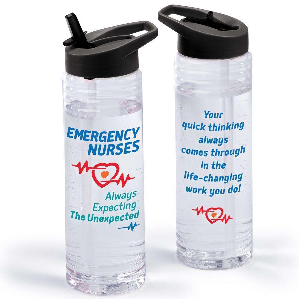 Emergency Nurses: Always Expecting The Unexpected Solara Water Bottle 24-Oz.