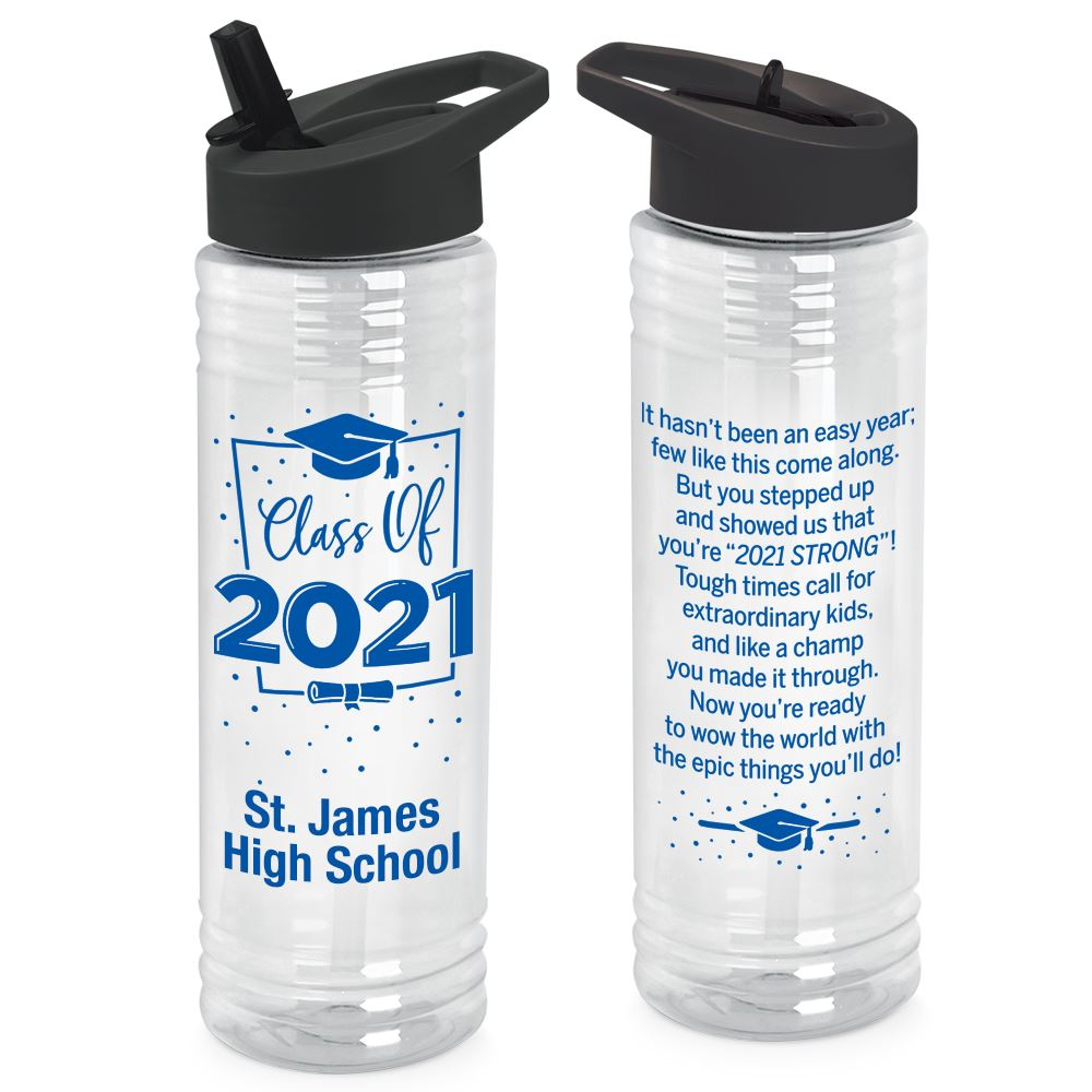 Class Of 2021 Solara Water Bottle 24-Oz. - Personalization Available