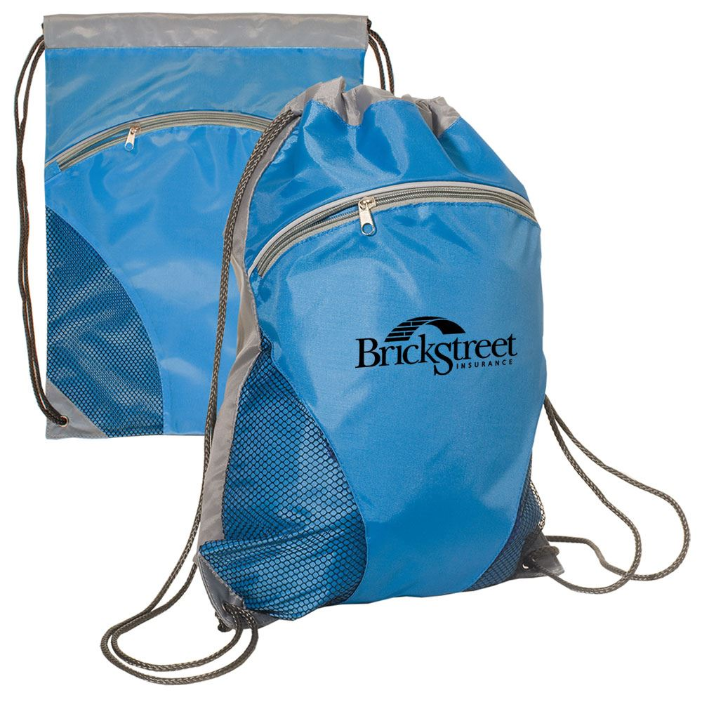 Air Mesh Drawstring Backpack - Personalization Available