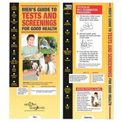 Men's Guide To Tests And Screenings For Good Health Slideguide - Personalization Available
