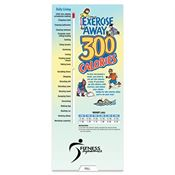 Exercise Away 300 Calories Slideguide - Personalization Available