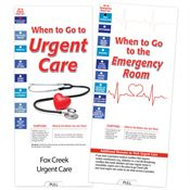 When To Go To Urgent Care/ER Slideguide - Personalization Available