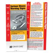 Serious Illness Warning Signs Slideguide - Personalization Available