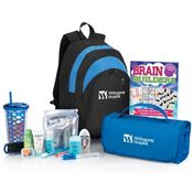 Blue Deluxe Patient Comfort Kit - Personalization Available