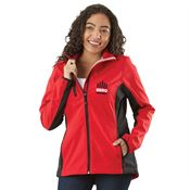 Clique® Women's Narvik Colorblock Softshell Jacket - Personalization Available