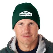 Ultra Club® Knit Beanie With Cuff - Personalization Available
