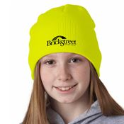UltraClub® Solid Knit Beanie - Personalization Available
