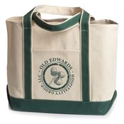 UltraClub® Carmel Canvas Tote - Personalization Available