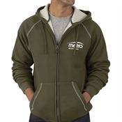 Charles River® Therma Bonded Sherpa Hooded Sweatshirt - Personalized