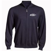 Full-Zip Embroidered Sweater - Personalization Available