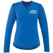 Women's Quadra Long-Sleeve Top - Personalization Available
