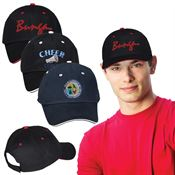 Unstructured Sandwich Cap - Personalization Available