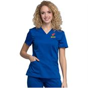 Cherokee® Workwear Women's Revolution V-Neck Scrub Top - Personalization Available