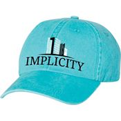 Mega Cap Pigment Dyed Cotton Twill Cap - Personalization Available
