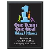 One Team One Goal Making A Difference 7