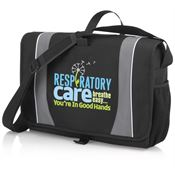 Respiratory Care Breathe Easy...You're In Good Hands Holbrook Laptop/Tablet Messenger Bag