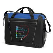 Nurturing Understanding Reassuring Strong Encouraging Supportive Westbury Briefcase Bag