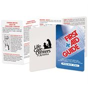 First Aid Guide Pocket Pal - Personalization Available
