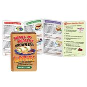 Heart-Healthy Brown Bag Lunches Pocket Pal - Personalization Available