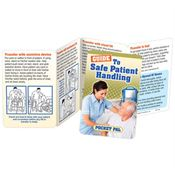 Guide To Safe Patient Handling Pocket Pal - Personalization Available