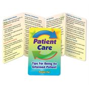Patient Care Tips For Being An Informed Patient Pocket Pal - Personalization Available
