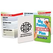 My Family Emergency Plan Pocket Pal - Personalization Available