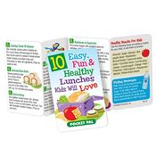 10 Easy, Fun & Healthy Lunches Kids Will Love Pocket Pal - Personalization Available