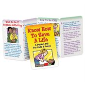 Know How To Save A Life: A Pocket Pal for Kids & Teens - Personalization Available