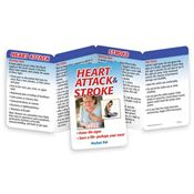 Heart Attack & Stroke: Know The Signs Pocket Pal - Personalization Available