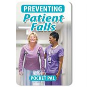Preventing Patient Falls Pocket Pal - Personalization Available