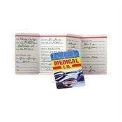 Medical I.D. Pocket Pal (English) - Personalization Available