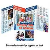 A Woman's Guide To Staying Safe On Campus Pocket Pal - Personalization Available
