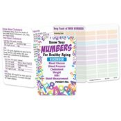 Know Your Numbers For Healthy Aging Recorder Pocket Pal - Personalization Available