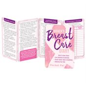 Women's Breast Care Diary Pocket Pal Breast Cancer Awareness - Personalization Available